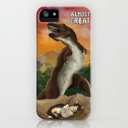 Prehistoric Forest. iPhone Case