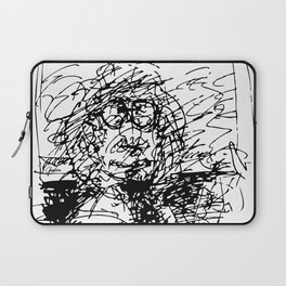 Face The Man On The Bus Laptop Sleeve