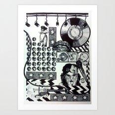 Teenage Dreams Art Print
