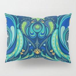Peacock Pattern Pillow Sham