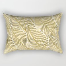 Tropical Gold Rectangular Pillow