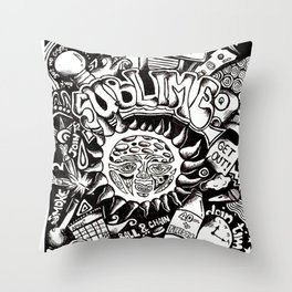 A Love Letter to Sublime Throw Pillow