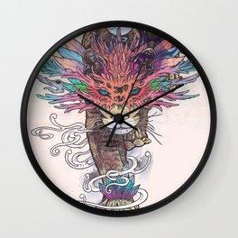 Journeying Spirit (Mountain Lion) Wall Clock