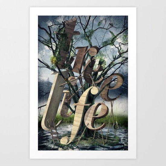 Tree Life Art Print