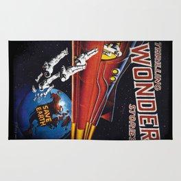 Wonder Stories - Save Earth Rug