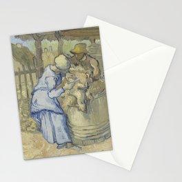 The Sheepshearer (after Millet) Stationery Cards