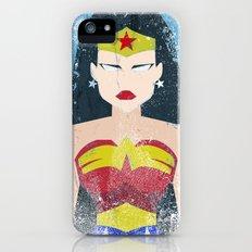 Wonder Grunge Woman iPhone (5, 5s) Slim Case