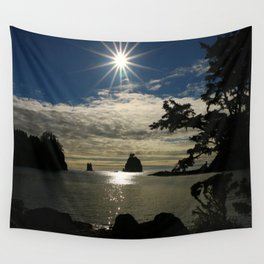 Last Sun's Rays For That Day Wall Tapestry