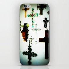 Crosses iPhone & iPod Skin