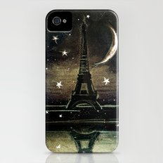 Paris Midnight iPhone (4, 4s) Slim Case