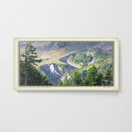 SWIFT CREEK HEADWATERS BELOW TABLE MOUNTAIN Metal Print
