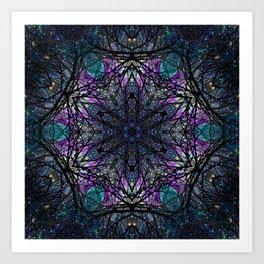 space mandala bv Art Print