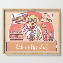 Lab in the Lab Serving Tray
