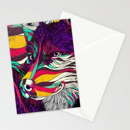 Color Husky (Feat. Bryan Gallardo) Stationery Cards