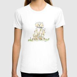 Preppy & Plaid Retriever T-shirt