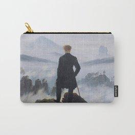Caspar David Friedrich - Wanderer above the sea of fog Carry-All Pouch