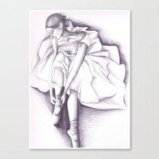 Ballet dancer Canvas Print