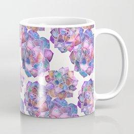 Rosette Succulents – Galaxy Palette Coffee Mug
