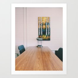 In the Library II Art Print