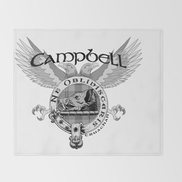 CAMPBELL FAMILY CREST Throw Blanket