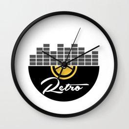 retro Venyl Wall Clock
