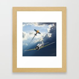 Reisen (Zero Fighter) flown by sub-Lt. Saburo Sakai Framed Art Print
