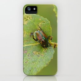 Japanese Beetle iPhone Case