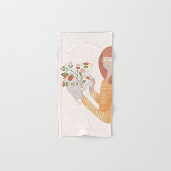 Wonders Of The World Hand & Bath Towel