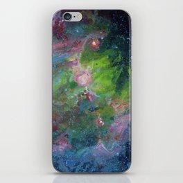 Eagle Nebula Gouache Painting Impressionistic Illustration iPhone Skin
