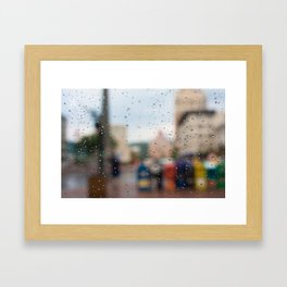 After the Rain in Asheville Framed Art Print