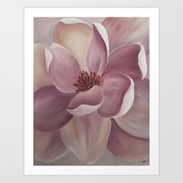 Magnolia Candy Art Print