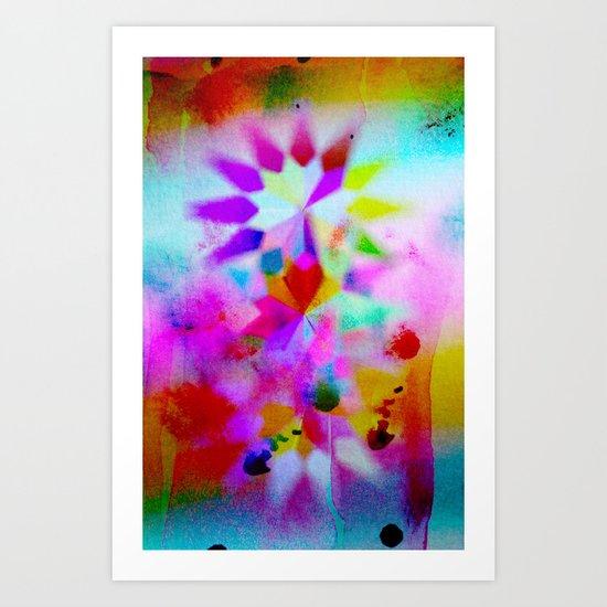 Lucy 101 Art Print