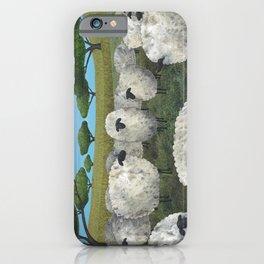 greener pasture iPhone Case