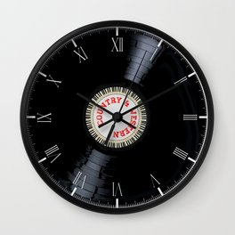 Country and Western Wall Clock