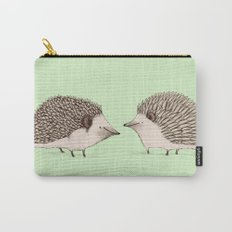 Two Hedgehogs Carry-All Pouch