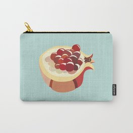 pomegranate fruit illustration Carry-All Pouch