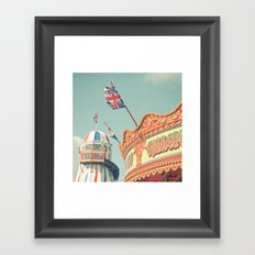 Ticket to Ride Framed Art Print