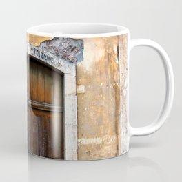 Sicilian facade of Taormina Coffee Mug