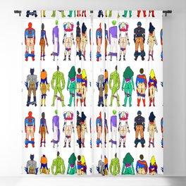 Superhero Butts - Power Couple Blackout Curtain