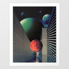 Hallways Of Time Art Print