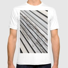 TRANSience Mens Fitted Tee MEDIUM White