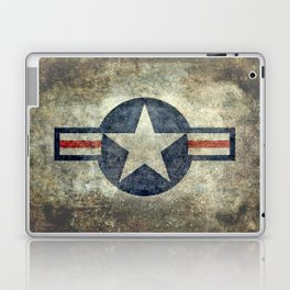 US Air force style insignia V2 Laptop & iPad Skin