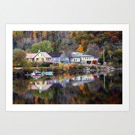 Wakefield Bay Art Print