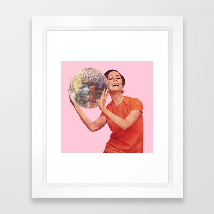 Hold Your Friends Close Framed Art Print