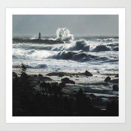 Storm of Grayson Art Print