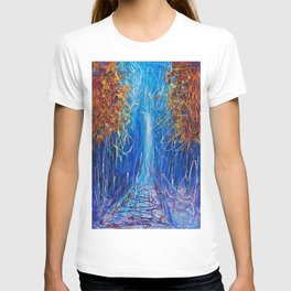 Impressionist Autumn -  ( inspired by Pollock ) T-shirt