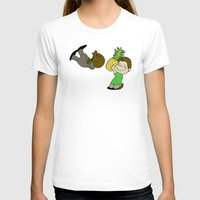 psych T-shirts featuring Psych! (Green Version) by AriesNamarie