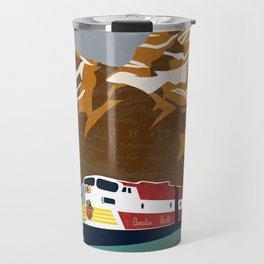 vintage CP rail poster Travel Mug