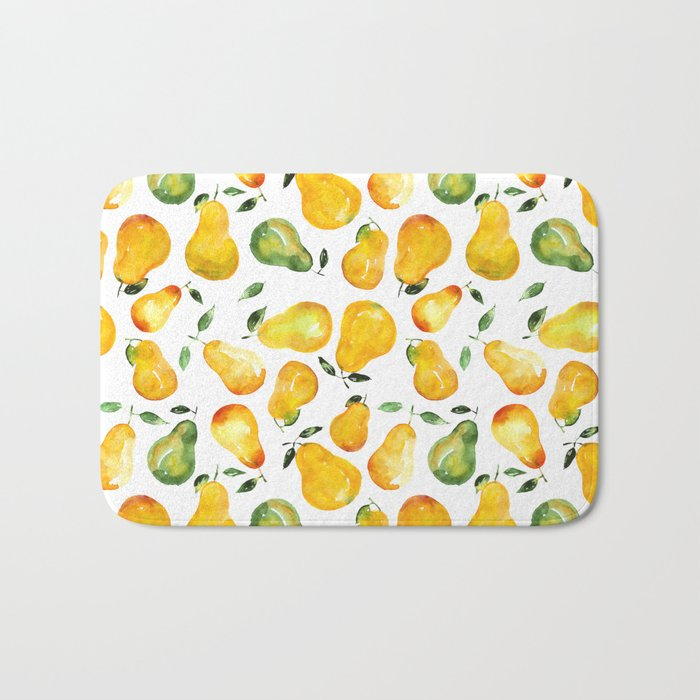 Sweet pears Bath Mat