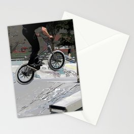 """""""Getting Air"""" - BMX Rider Stationery Cards"""